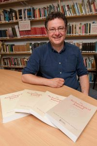 Professor Howard Williams Editor of The Archaeological Journal