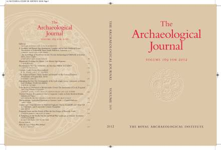 AJ 169 COVER