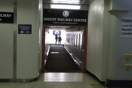 The Time Tunnel: entering the Didcot Railway Centre