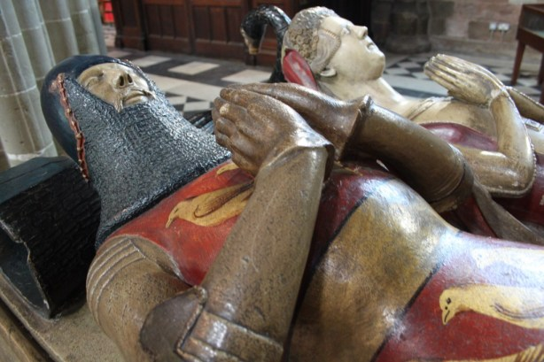 1 - Medieval Lordly Tomb, Worcester Cathedral