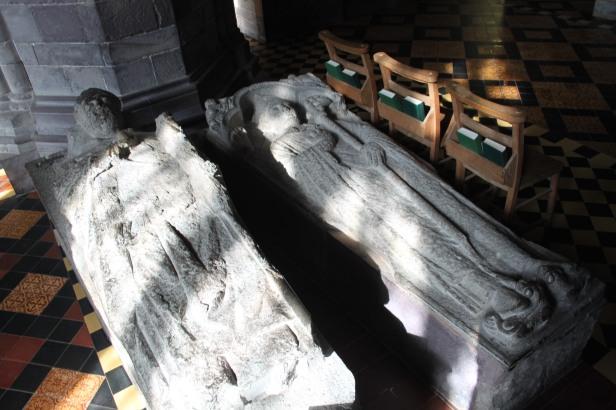20 bishops tombs, st Davids