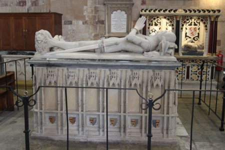 23 Exeter - south transept tombs