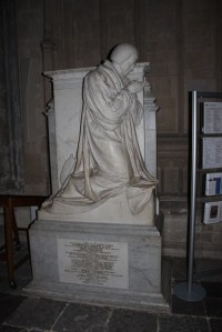 Early 19th-century praying portrait, Winchester Cathedral