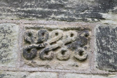 Brompton 7 - situated in the external south wall of the chancel
