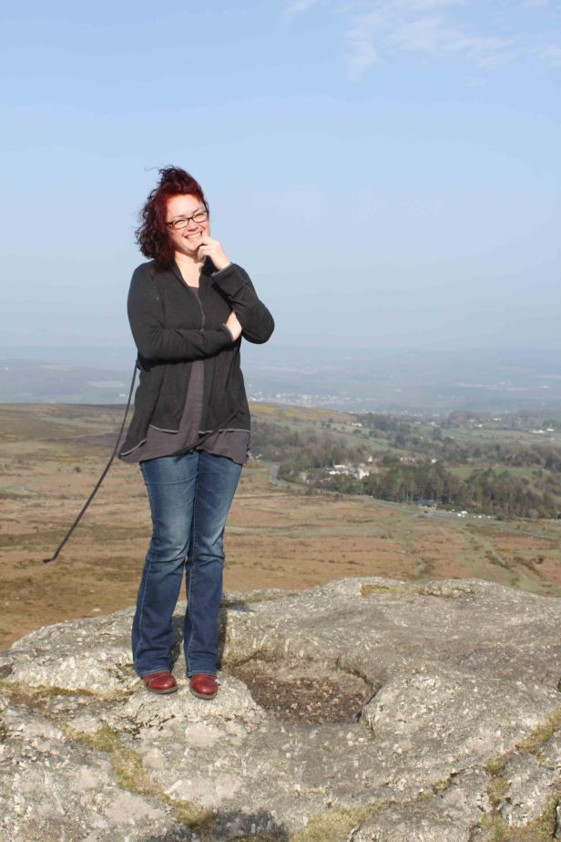 Paty on Haytor
