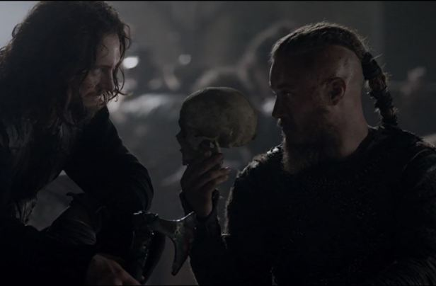 Ragnar with bones