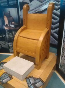 Pictish chair - not too comfry methinks