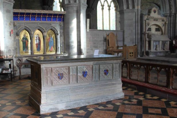 Edmund Tudor & St David's Shrine