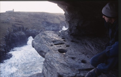 Aaron in south facing cave2
