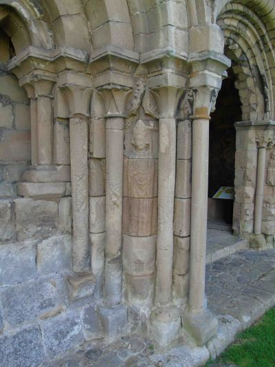 St Thomas Becket outside the chapter house