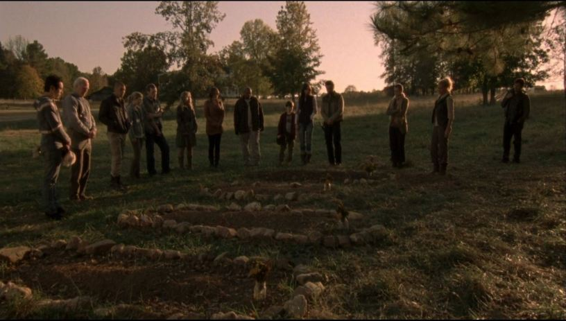 The Walking Dead Season 2 Burying And Burning A Barn Of Walkers