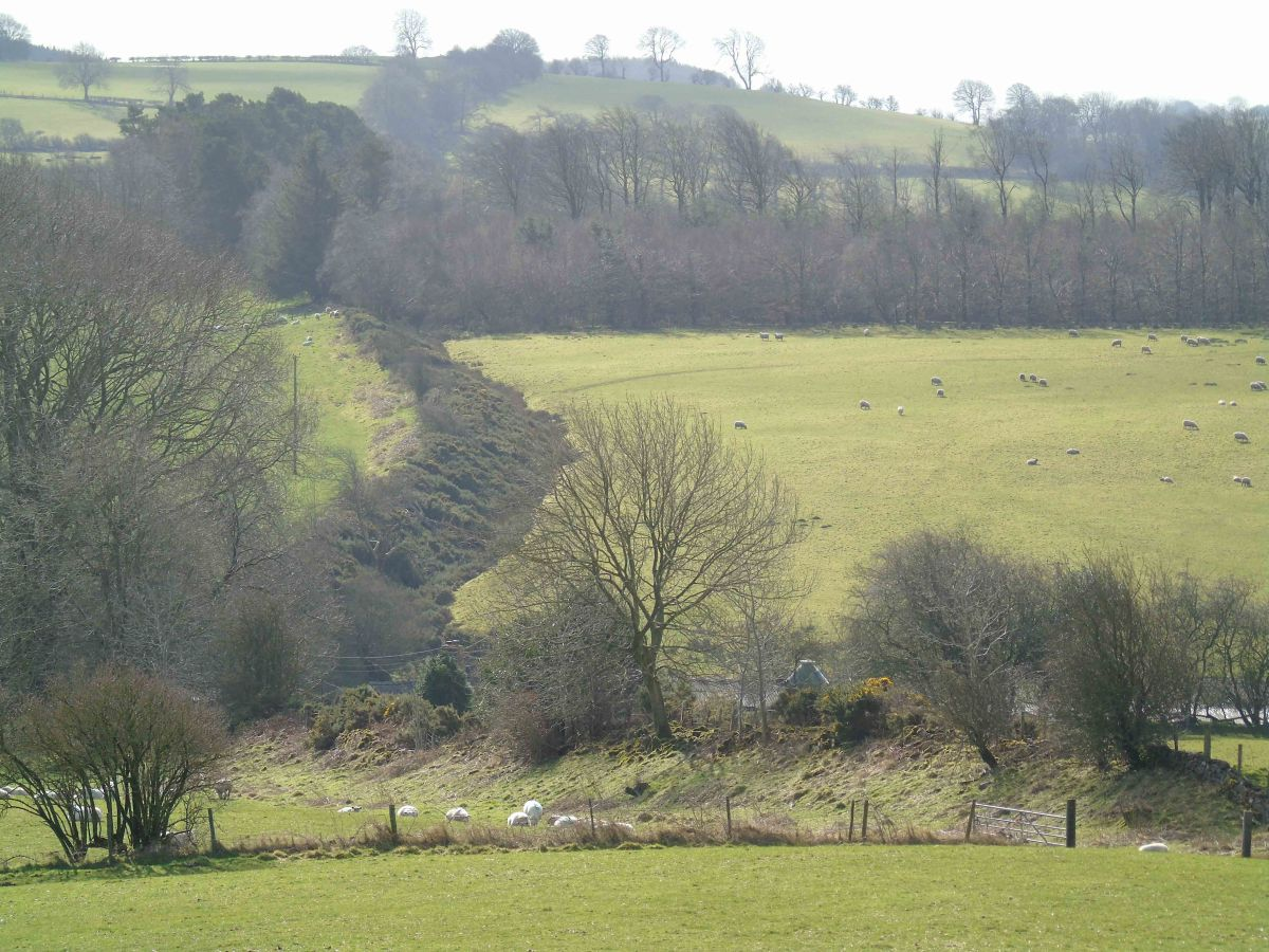 Offa's Dyke and the Modern Welsh-English Border - Carreg-y-big to Craignant