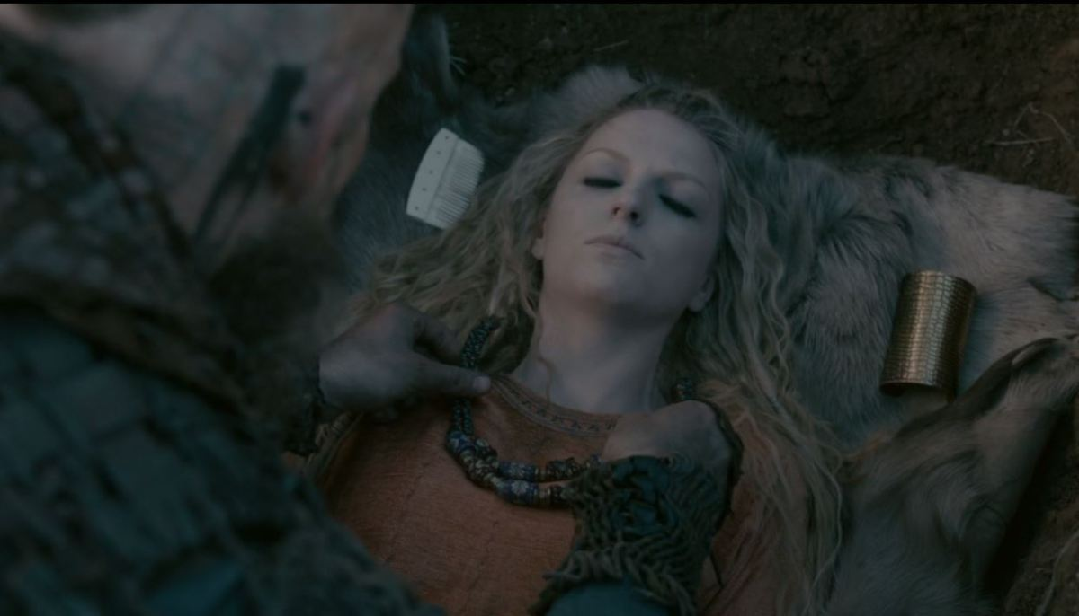 Helga's Funeral in Vikings Series 4 part 2