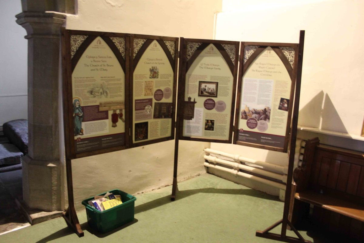 Whitford Heritage Display - St Beuno and St Mary's