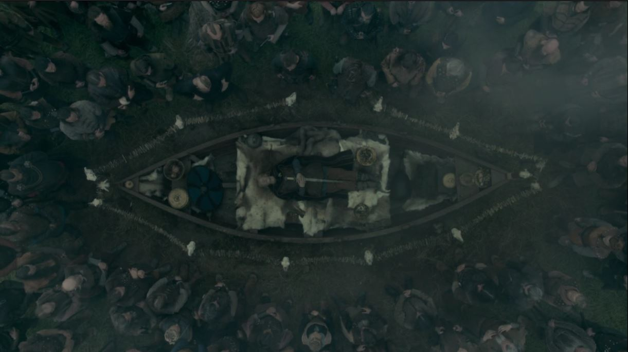 Sigurd's Funeral – Vikings Season 5 part 1 – Archaeo𝔡𝔢𝔞𝔱𝔥