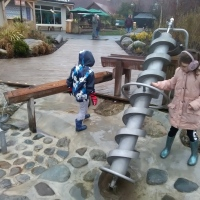 Hydraulic Play at Chester Zoo