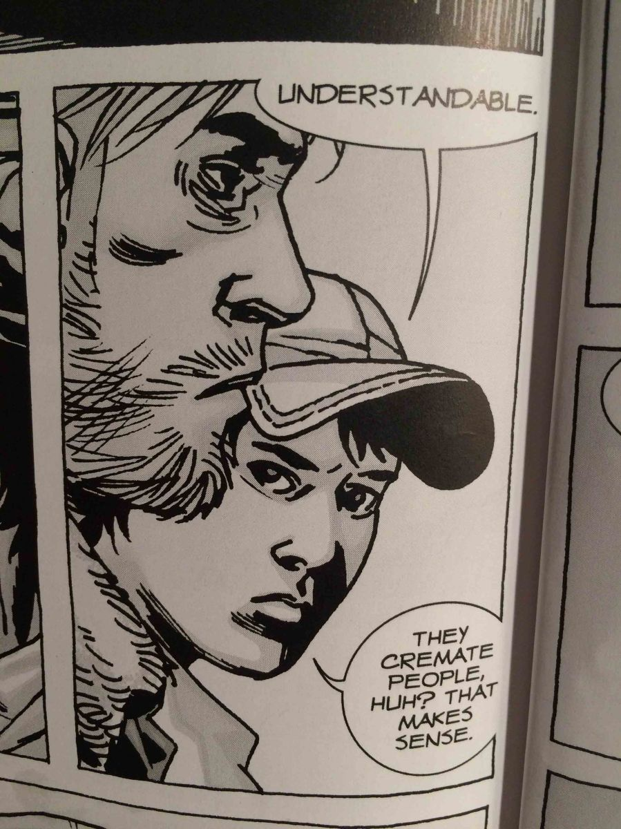 From Comic to TV series:  The Archaeology of The Walking Dead