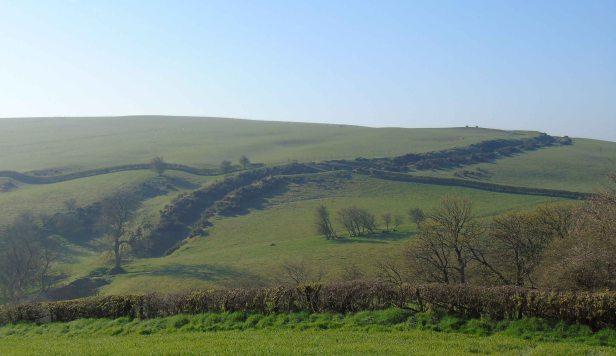 offa's dyke, llanfair hill