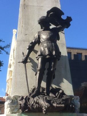 Detail, Leeds war memorial