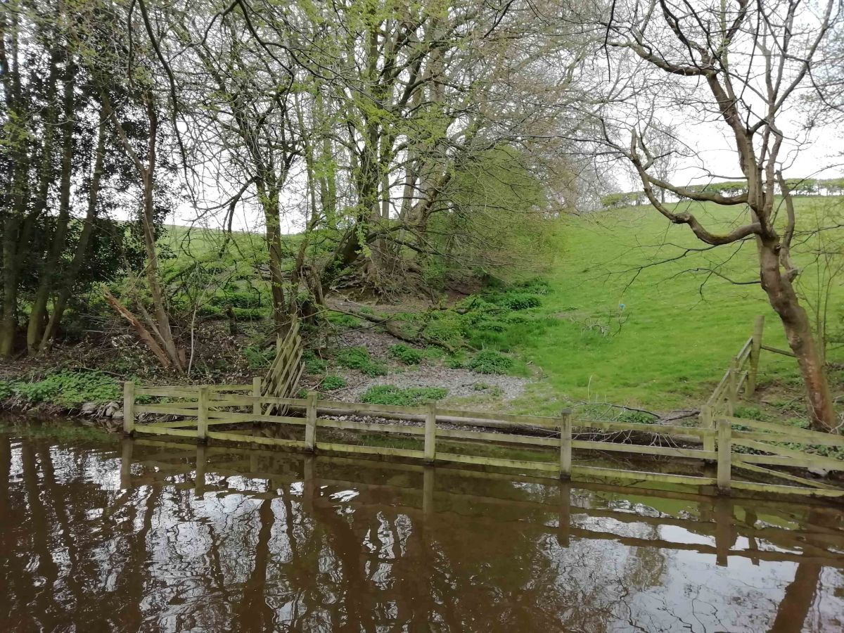 Where Marvels Meet: Offa's Dyke cut by the Llangollen Canal at Chirk