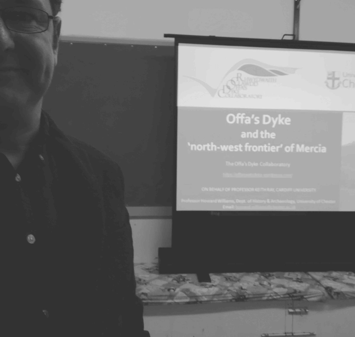 Eurovision and Frontiers  - Offa's Dyke and the North-West Frontier of Mercia