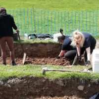 The CPAT/NT dig at Chirk Castle