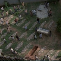 Hilltop's cemetery in The Walking Dead Season 9