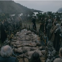 Mass burial and commemoration in Vikings Season 6 part 1